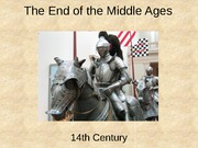 22 End of the middle ages - short 2011