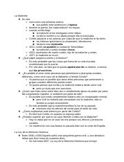 spanish final study guide