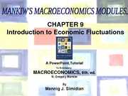 Econ Chapter 9