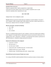 qualitative assigment Assignment final (educ 6219: quantitative methods) evaluating the effectiveness of senior principle in schools introduction nowadays, quality of head teachers is being increasingly disputed.