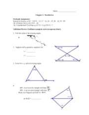 Ch 4 Geometry Review(1)
