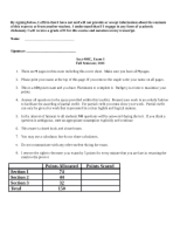 Acct400C - Exam1a Practice test:Answers