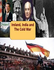 22 Ireland India and the Cold War - Davis.ppt - Tech 202 - v2