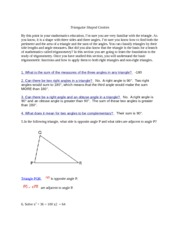 Right triangles and trigonometry