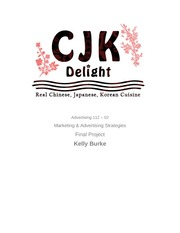 Final Project CJK Delight  (example)