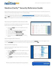 Nextiva-Clarity-Security-Reference-v1.0.pdf