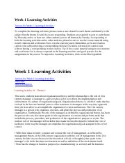 BMGT 354 Week 1 Learning Activities.docx