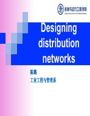 02. Designing distribution networks