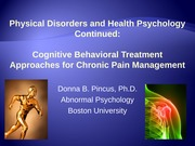 Chronic Pain Lecture