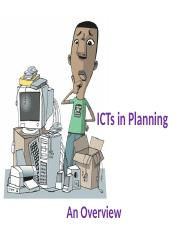 Lecture 1 Introduction to ICT for Urban Planning Applications.ppt