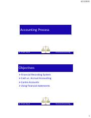 Lecture Accounting Process