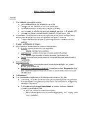 Biology 2 Exam 2 Study Guide