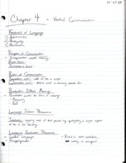 Communication203Chapter4Notes