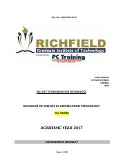 ASSIGNMENT BOOKLET 2017-BSC-THIRD YEAR MODULES.docx