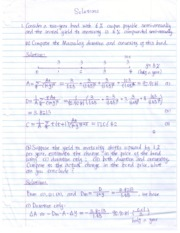 assignment 1 soln Assignment problems and solutions problem 1: solution 1: part a) part b).