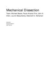 Mechanical Dissection