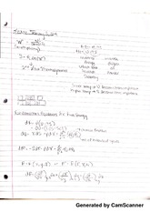 equations for free energy