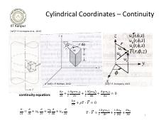 14 - Convection - governing equations, cylindrical, spherical coordinates.pdf