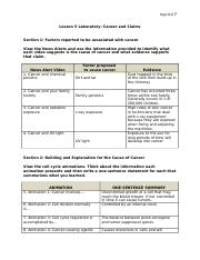 BS101_lab_5_Cancer_WORKSHEET - Page 1 of 7 Lesson 5 ...