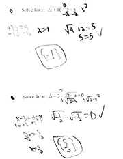 Practice Equations