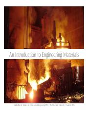 8. Engineering Materials