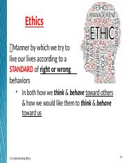 C1 what is ethics