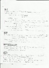 Chapter 3 and 4 Notes