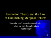Lecture10--PRODUCTIONTHEORY-1
