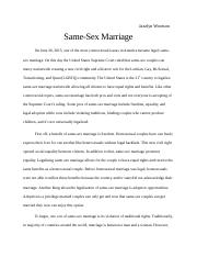Same-sex marriage.docx