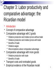 Chapter 3 The Ricardian model_HUBwise(1).pptx
