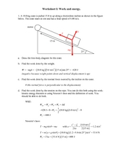 Recitation Worksheet I Solutions