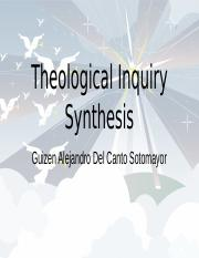 Theological Inquiry Synthesis