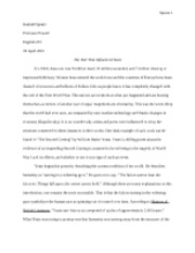 English Final Paper