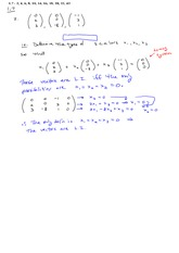 Assignment 1.7 Solutions on Linear Algebra Spring 2015