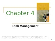 ACCT 632 Chapter 4 PowerPoint Slides