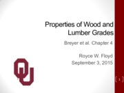 Wood Properties and Lumber Grades_CEES 4753_Fall 2015_9_10_15 with notes