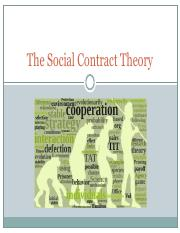 The Social Contract Theory