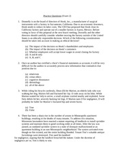 Practice Questions (Exam 2 Mar2014) (1)
