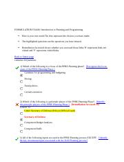 BCF 110 EXAM 3 & 4 Answers - Introduction to Planning and Programming, 1st try.docx