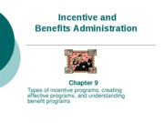 Ch 9 - Incentive and Benefits Administration_Web