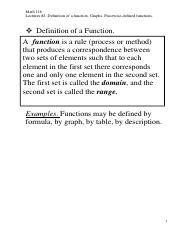 Lecture #2.  Functions and Graphs..pdf