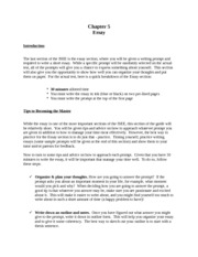 ISEE Essay - Strategy, Practice Exam and Conclusion - Test Prep