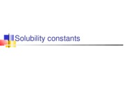 solubility constants and gravimetric methods of analysis post