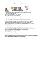 Study Guide DNA technology, Classification, Virsus,Kingdom