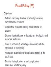 W9-Fiscal Policy.ppt