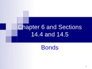 Chapter 6 and Sections 14.4 and 14.5