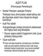 BAB_6 AuditPlan_AuditProgram_AuditProcedure_AuditTeknik_RiskoAudit_Materialitas