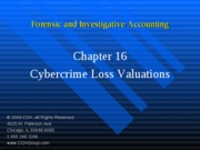 4Ed_CCH_Forensic_Investigative_Accounting_Ch16