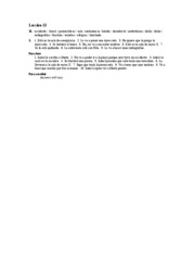 Â¡Hola, amigos! Workbook Answer Key Lec.13 H-Para Leer