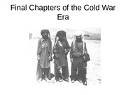 History Lecture #19 Final Chapters of the Cold War Era
